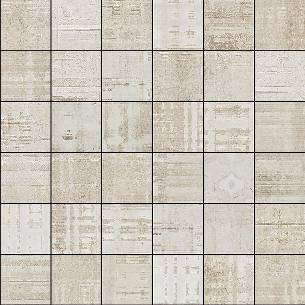 Hammerman White Mosaic 30 x 30